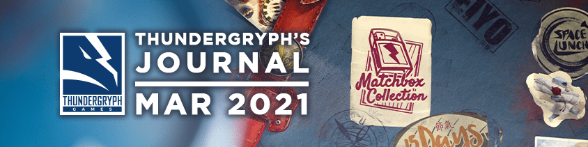 Thundergryph's Journal - March 2021